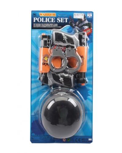 Полицейский набор 13-3 на планш 52*11*25см