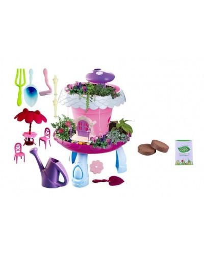 Домик BK1801/2 2 вида, свет, домик, мебель, семена и грунт для выращивания собственного сад