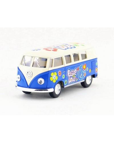 """Машина металл """"KINSMART"""" KT5060WYF """"1962 Volkswagen Classical Bus"""", в коробке 16*8*7,5см"""