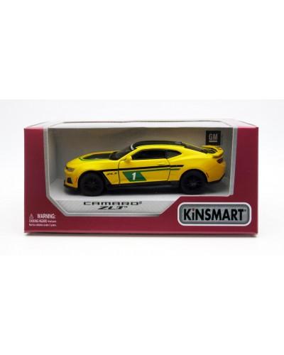 """Машина металл """"KINSMART"""" KT5399WF """"2017 Camaro ZL1"""", в коробке 16*8*7,5см"""