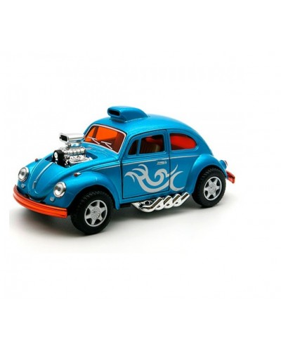 "Машина металл ""KINSMART"" KT5405W ""Volkswagen Beetle Custom Dragracer"", в коробке 16*8*7,5см"