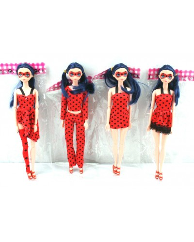 """Кукла """"M"""" 121 4 вида, шарнирная, в пакете 29см"""