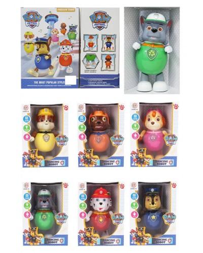 Муз. игрушка CY8805-1/2/3/4/5/6 собачка, муз-свет, 6 видов, в коробке 20,5*13,5*28см
