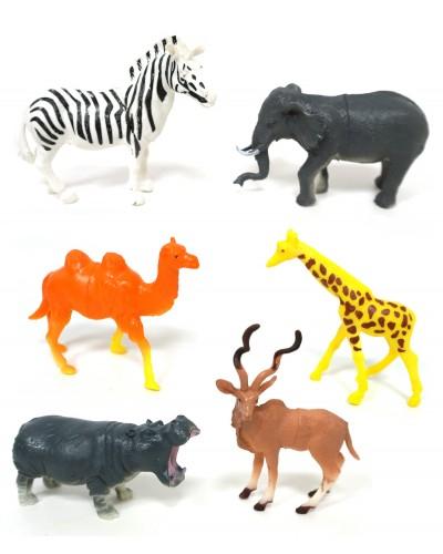 Животные 999A-04 дикие, 6 шт в пакете 11,5*4*5,5см