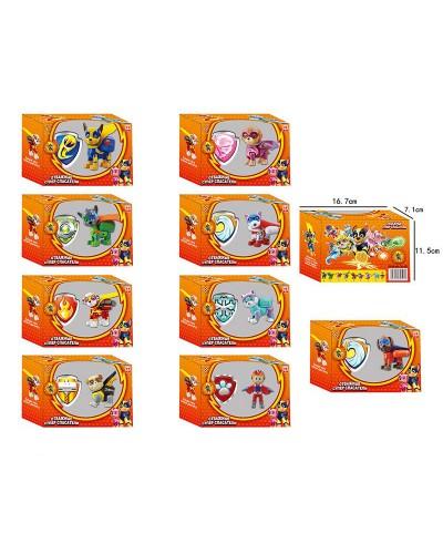 Игровой набор CH-507 10 видов, герои, в кор. 16,7*7,1*11,5см