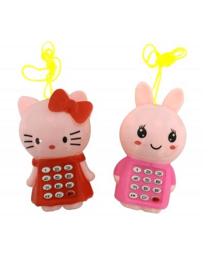 Моб.телефон 7791 батар.,4 вида, изделие 10*6*4см  в пакете 12*15см