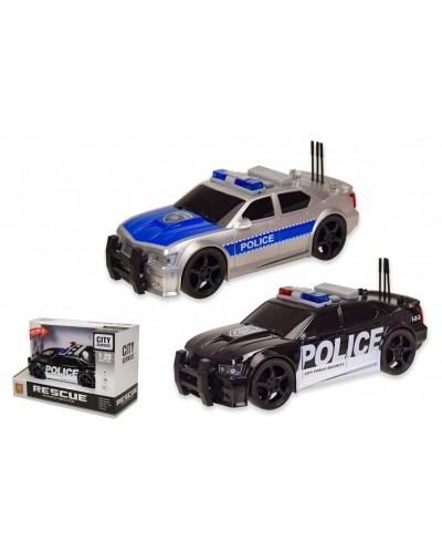 Машина батар WY500A/B полиция, 2 вида, свет, звук, в коробке 23,5*15,5*10,5см