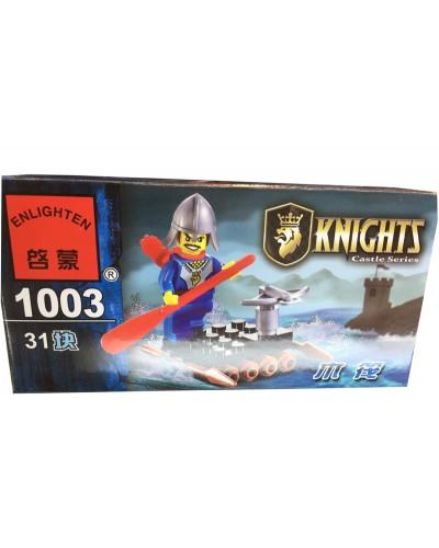 """Конструктор """"Brick"""" 1003, KNIGHTS, 31дет, в собр. коробке 14*7*4,5см"""