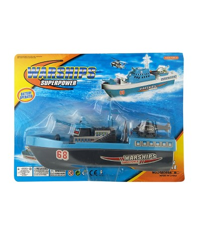 Корабль DQ8369AB на планшетке 25,5*5,5*19см