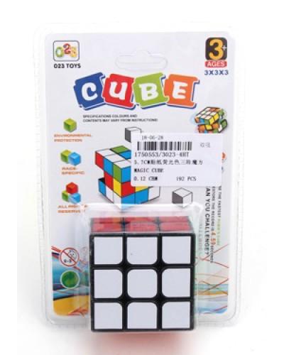 Кубик логика 3023-4T/4HT 3*3, на блистере 17*11,5*3
