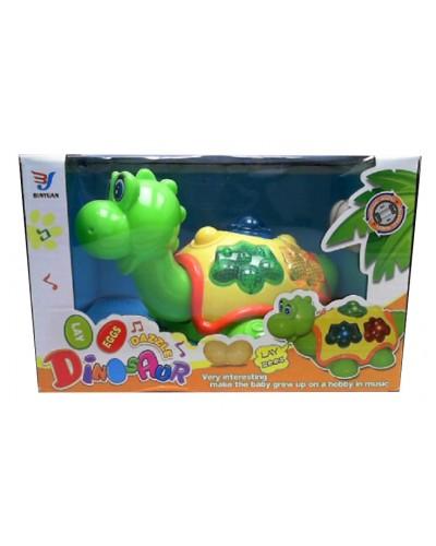 Муз. черепаха 28802 муз., свет, в коробке 21,5*17,5*13,5см
