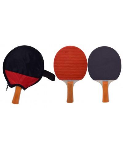 Теннис настольный CL1724 8 мм, ракетка в чехле