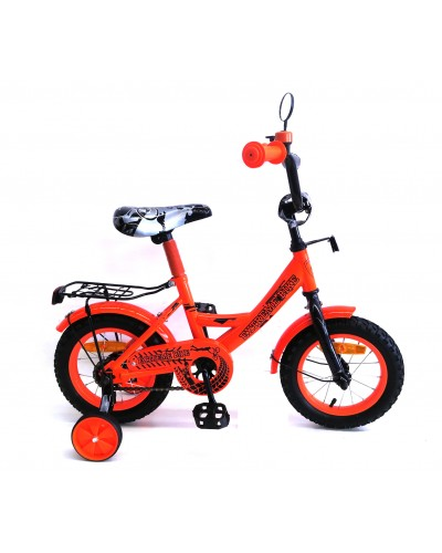 "Велосипед 2-х колес 12"" 181230 со звонком, зеркалом, без ручного тормоза"