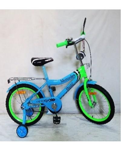 Велосипед 2-х колес 20'' 182038 со звонком, зеркалом, без доп. колес