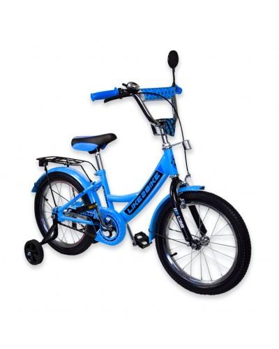 "Велосипед детский 2-х колёсный 14"" 191413 Like2bike RALLY, голубой"