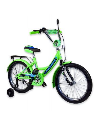 """Велосипед детский 2-х колёсный 14"""" 191414 Like2bike RALLY, салатовый."""