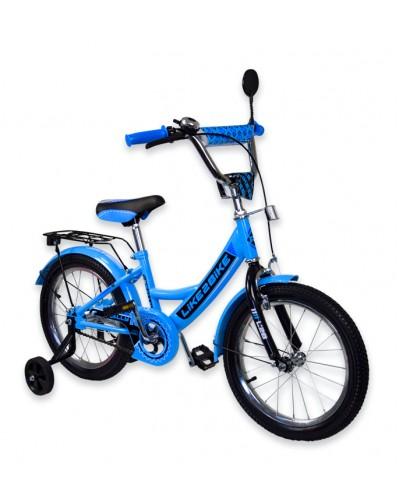 "Велосипед детский 2-х колёсный 16"" 191613 Like2bike RALLY,  голубой"