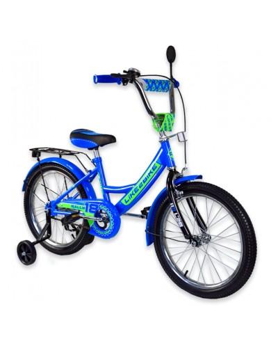 "Велосипед детский 2-х колёсный 16"" 191615 Like2bike RALLY, синий."