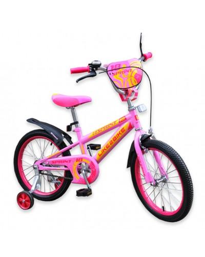 """Велосипед детский 2-х колёсный 16"""" 191631 Like2bike Sprint, розовый"""