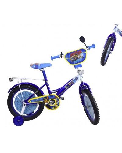 "Велосипед 2-х колес 12"" PP1204 со звонком, зеркалом, без ручного тормоза"