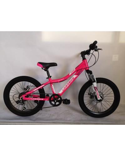Велосипед 2-х колес 20'' A192001 диск. тормоза, подножка, без доп.колес