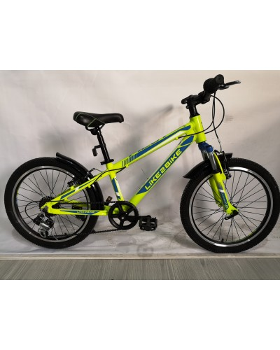 Велосипед 2-х колес 20'' A192003 подножка, руч. тормоз, без доп. колес