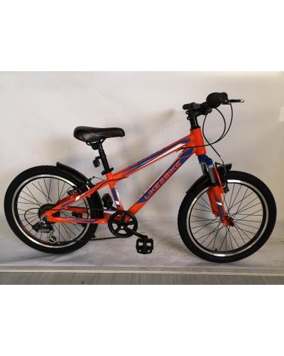 Велосипед 2-х колес 20'' A192004 подножка, руч. тормоз, без доп. колес