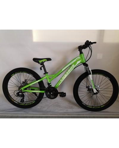 Велосипед 2-х колес 24'' A192006 диск. тормоза, без доп. колес