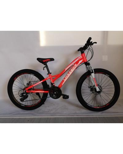 Велосипед 2-х колес 24'' A192007 диск. тормоза, без доп.колес