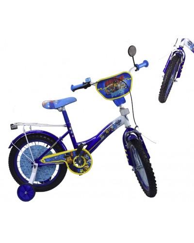Велосипед 2-х колес 14'' PP1405 со звонком, зеркалом, руч.тормоз