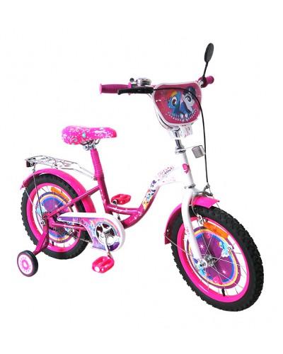 Велосипед 2-х колес 16'' 171621 со звонком, зеркалом, руч.тормоз
