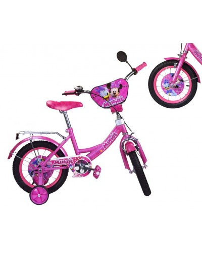 Велосипед 2-х колес 16'' M1816 со звонком, зеркалом, руч.тормоз
