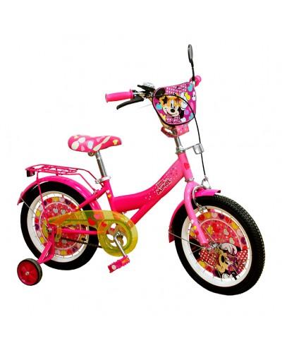 Велосипед 2-х колес 16'' 191605 со звонком, зеркалом, руч.тормоз