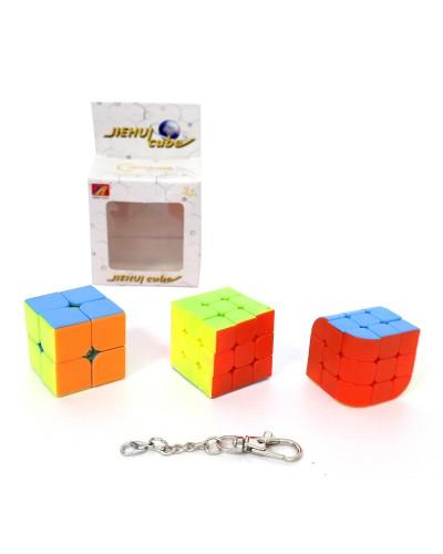 Кубик логика 849/850/851 3 вида, в коробке