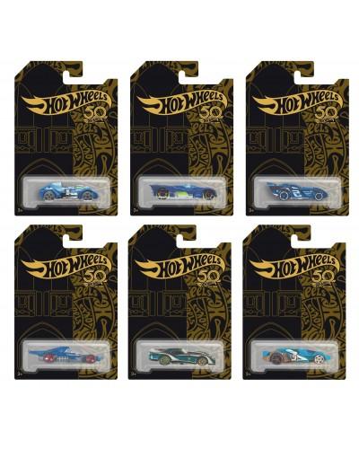 Машина металл. типа HOT WHEELS K50-1 6 видов, на планшетке 11,3*16,5см