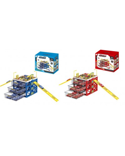 Паркинг G6588/G6688 2 вида, 3 яруса машин, в коробке 24,8*20,8*22,4см