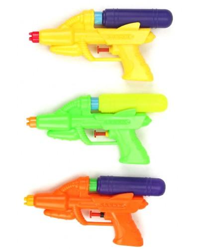 Водный пистолет M100-1 3 вида, в пакете 19*11см