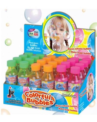 Мыльные пузыри 88972 3 цвета, 60мл, в боксе, цена за бокс