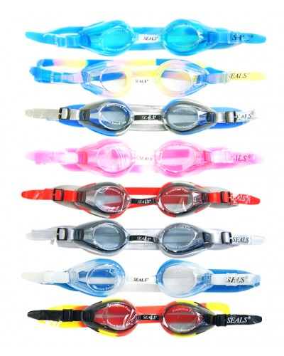 Очки для плавания 700 (8 цветов/1цвет в уп.) в сумке