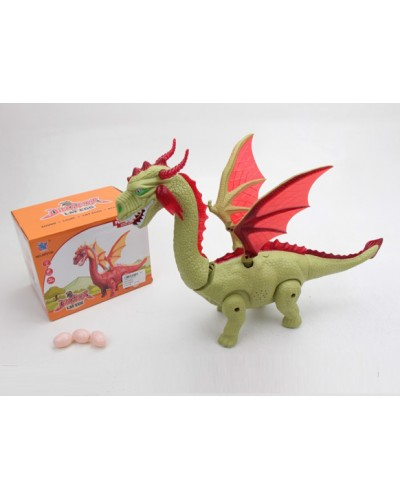 Животные GP2136 батар, дракон, звук, в коробке 21,5*15,5*17 см