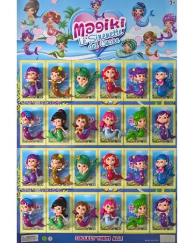 Герои MRY01 дельфинчики изменяющие цвет, цена за 24шт., на планшетке