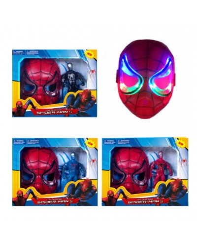 Герои с маской HT15394 3 вида, в коробке 25*25см