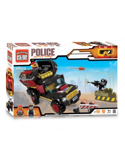 """Конструктор """"Brick"""" 1909 """"Police"""" в разобр.кор.32,5*22*6см"""
