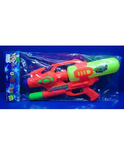 Водный пистолет 350 с насосом, в пакете 50см
