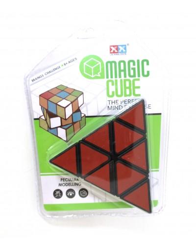Кубик-логика 8850/51/52 треугольный, 3 вида, в коробке 7*7*7см