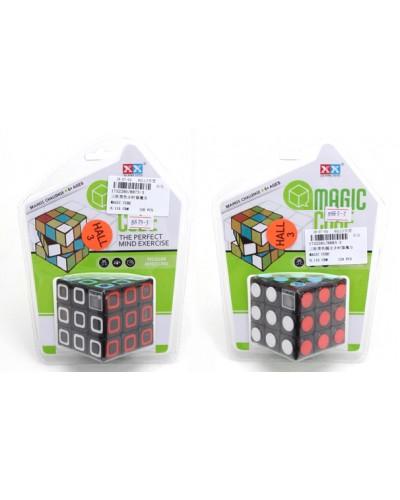 Кубик-логика 8873-3/83-3 2 вида, с таймером, 3*3, на блистере 19*14*4,5см