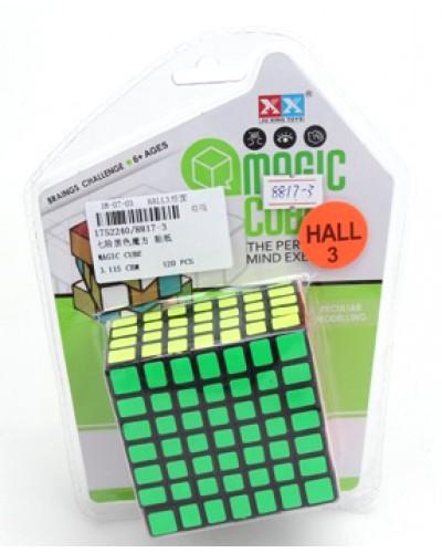 Кубик-логика 8817-3 7*7, на блистере 19*14*3,5см