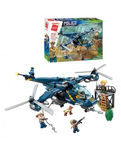 """Конструктор """"Brick"""" 1922 402дет., вертолет, в коробке"""
