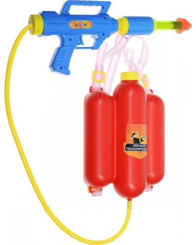 Водный пистолет 2235C с рюкзаком в пакете 39*21см