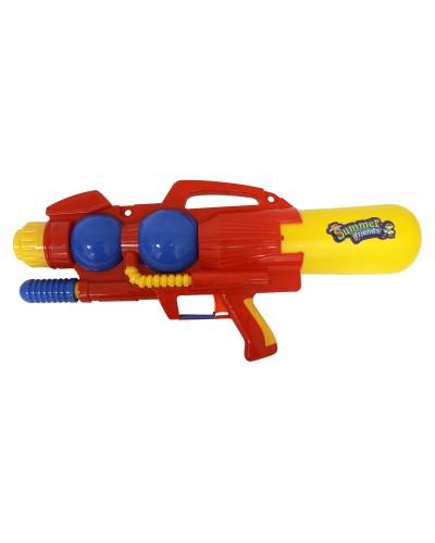 Водный пистолет 3500# с насосом, в пакете 54*25см